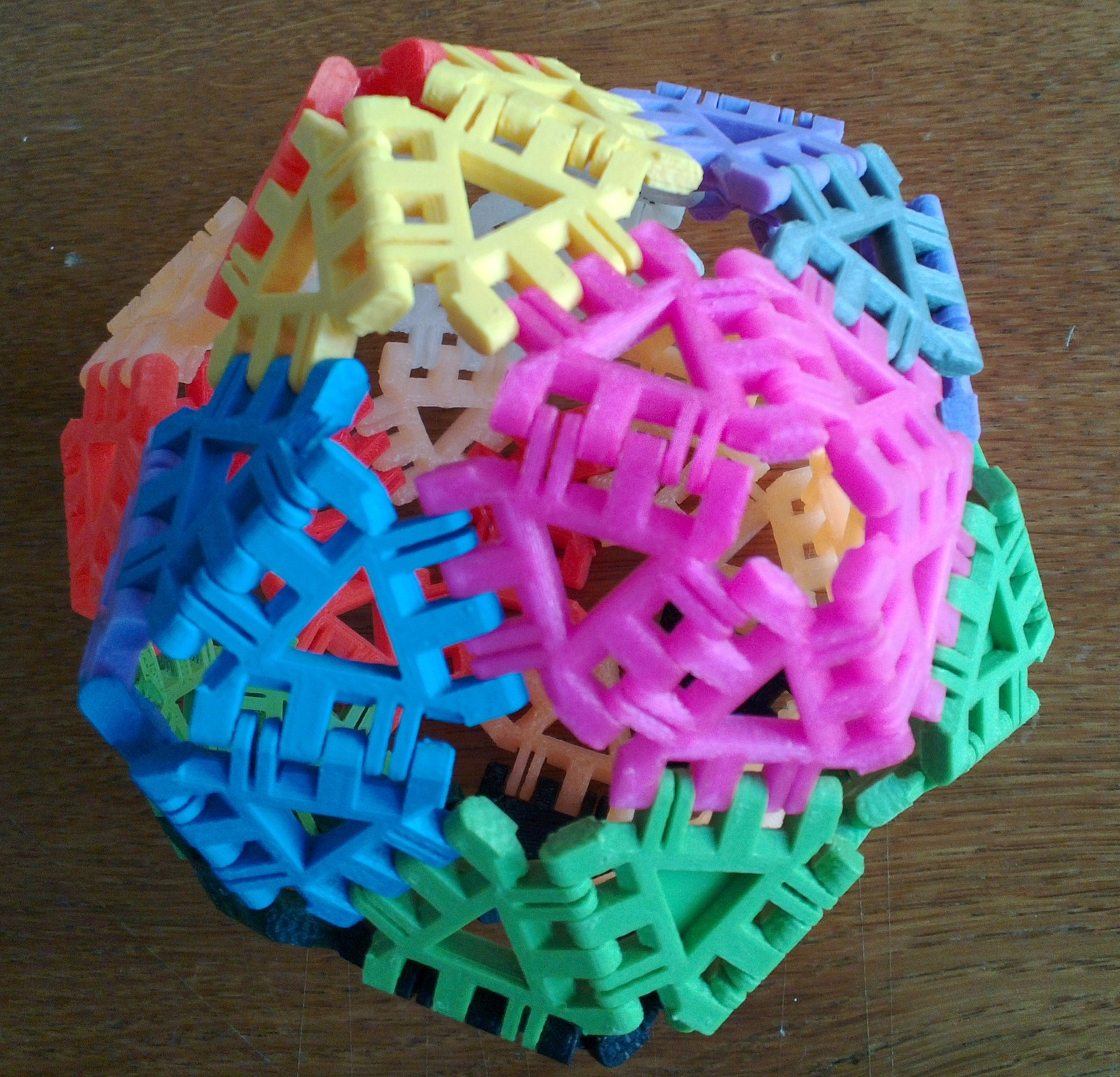 Cover image for article 'Augmented Dodecahedron'
