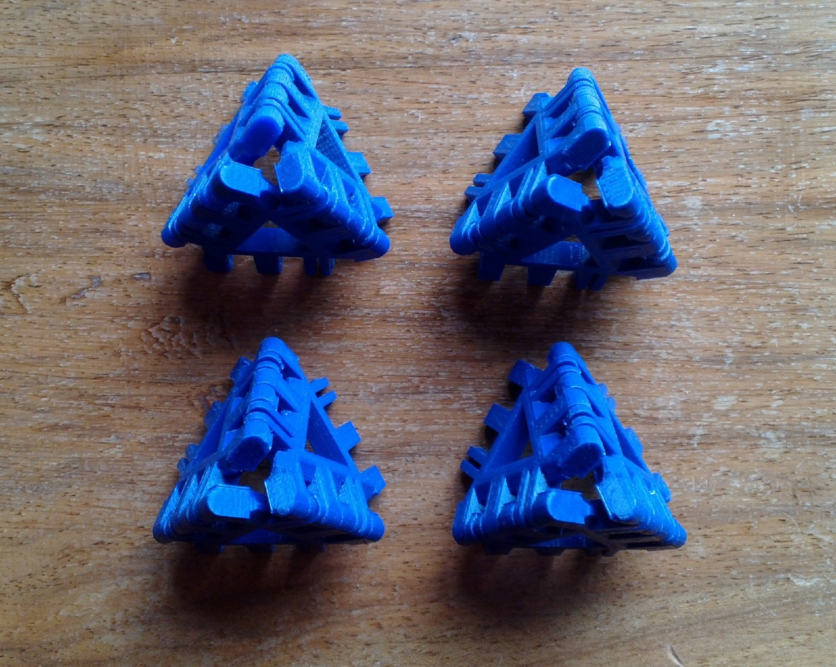 Augmented Tetrahedron Assembly Step 2