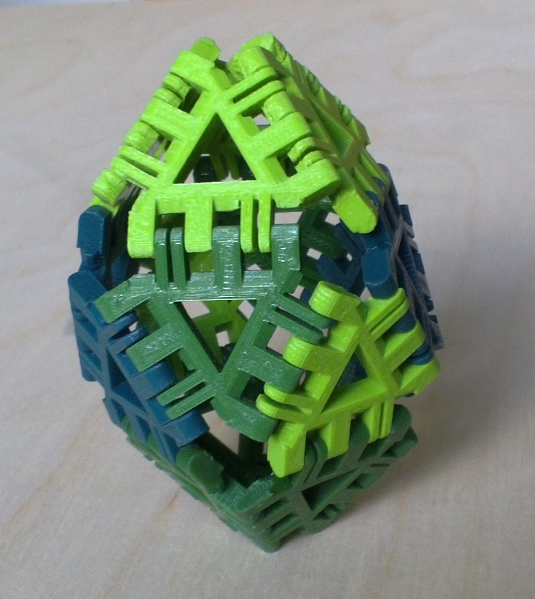 Gyroelongated Square Bipyramid
