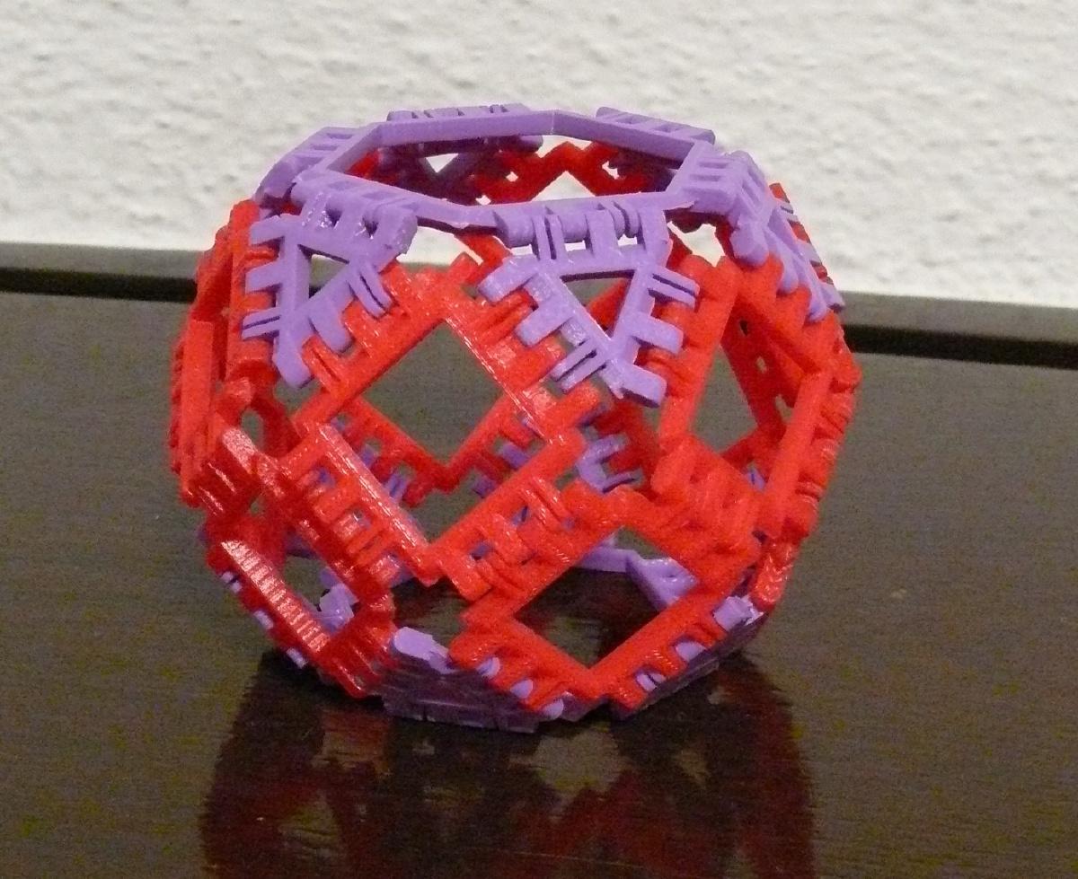 Hexagonal Square Barrel