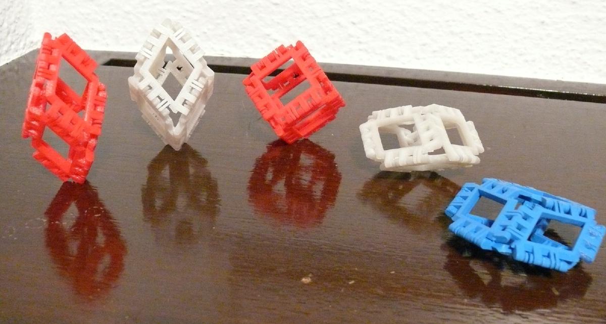 Different Rhombohedra