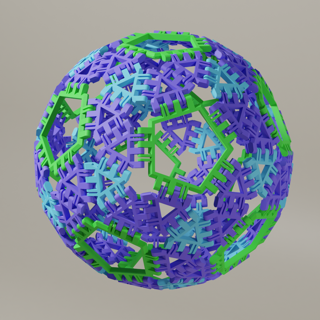 Snub Dodecahedron (Variant a)