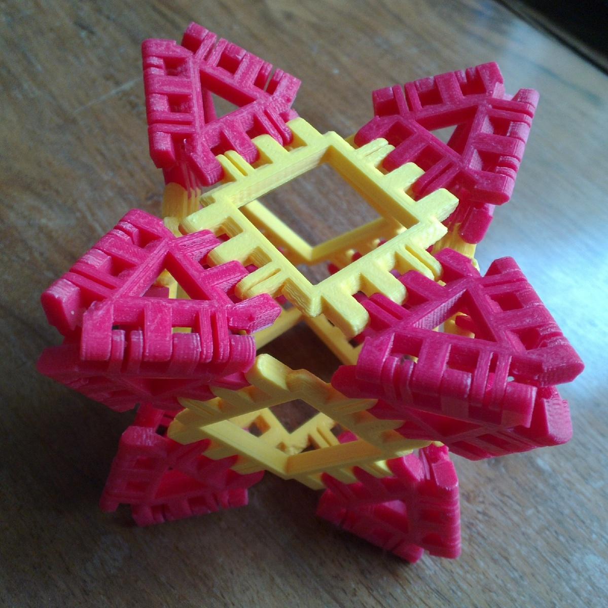 Spiky Cuboctahedron