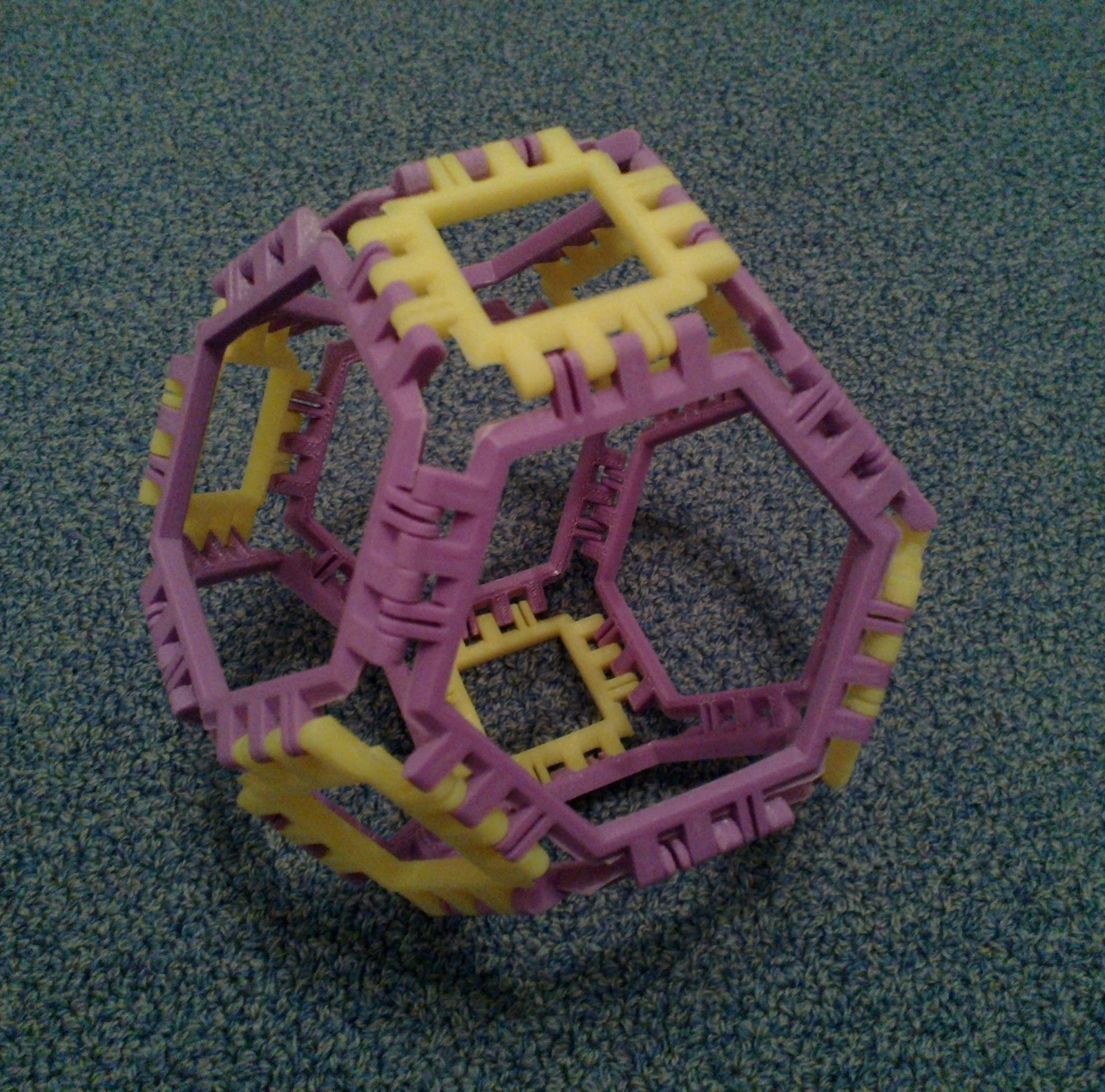 Cover image for article 'Truncated Octahedron'